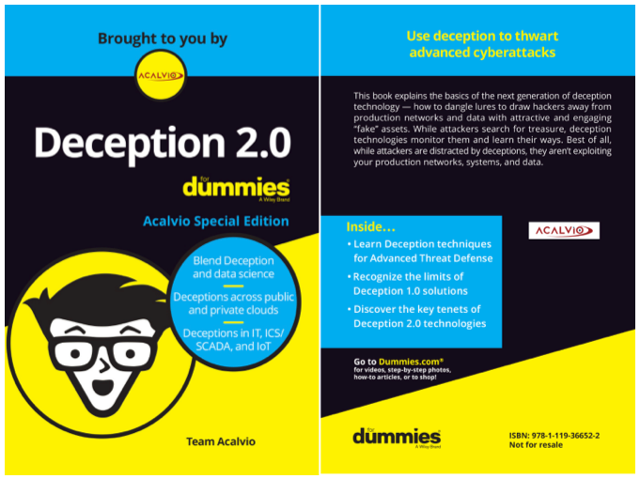 "The Industry's First ""Deception 2.0 for Dummies"" Book"
