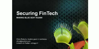 Securing FinTech though Deception 2.0 Technologies