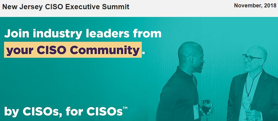 Evanta New Jersey CISO Executive Summit
