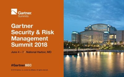 Gartner 2018 North America Security & Risk Management Summit