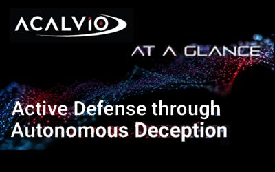 Acalvio At A Glance