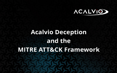 Deception and the MITRE Att&ck Framework