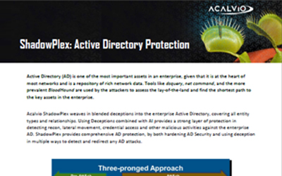 Active Directory Protection – ShadowPlex